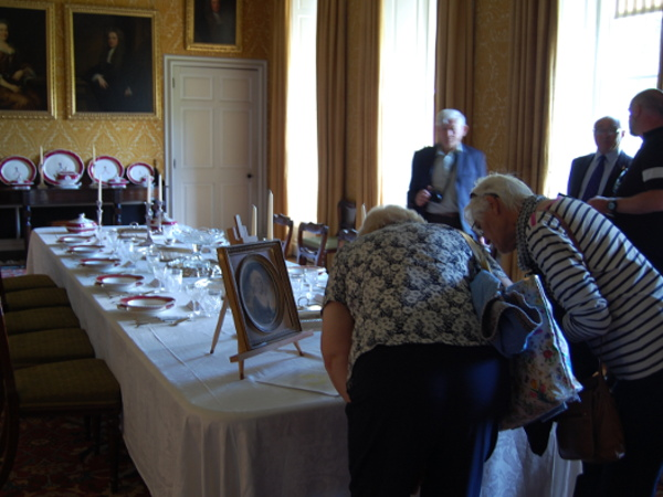 Chatsworth dining room