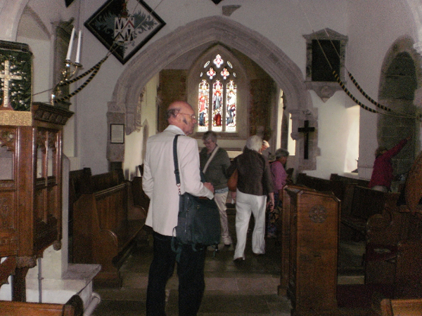 Breamore St Mary's Pulpit